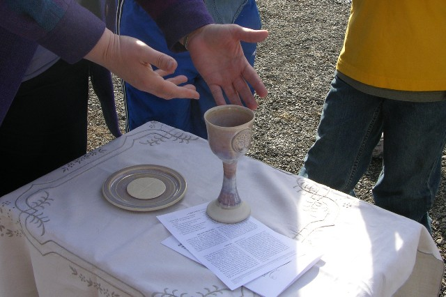 outdoor Eucharist